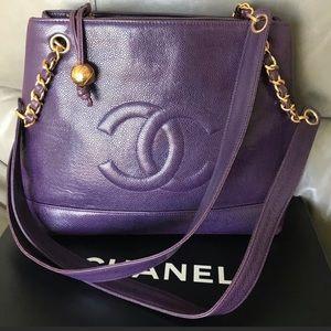Chanel Purple Shoulder bag💜
